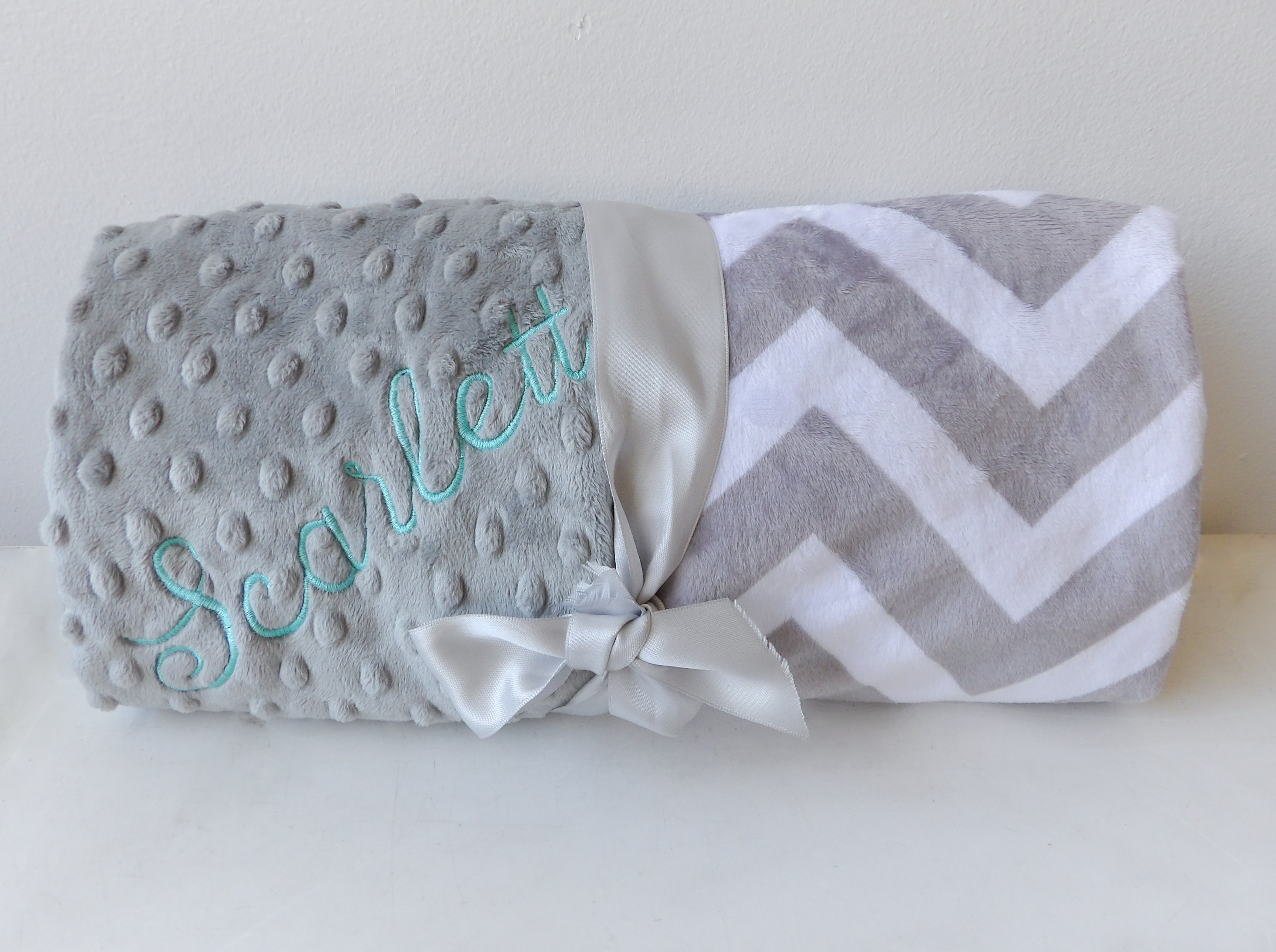 """Personalized Blanket by """"Baby Boo's Designs"""""""